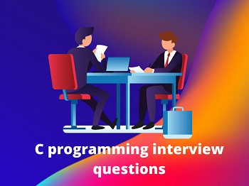 C programming interview questions