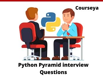 Python Pyramid interview questions