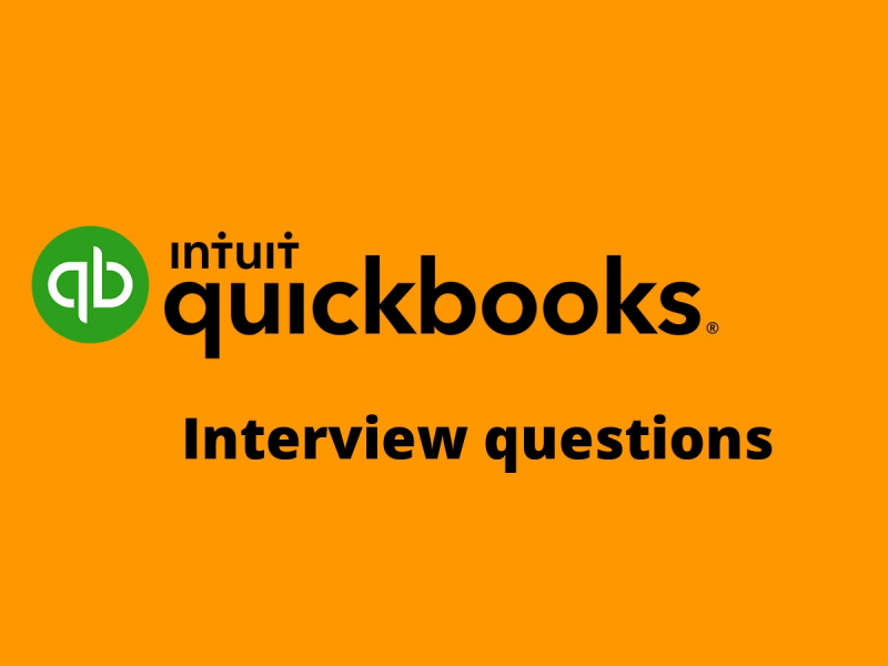 QuickBooks interview questions