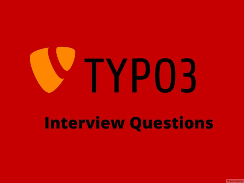 TYPO3 Interview questions