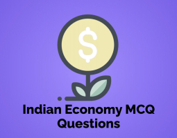 Indian Economy MCQ Questions