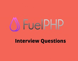 Fuel PHP interview questions