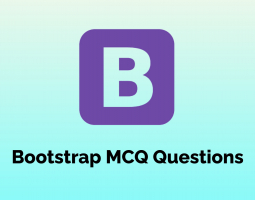 Bootstrap MCQ Questions