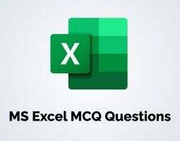 MS Excel MCQ Questions