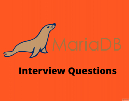 MariaDB Interview Question