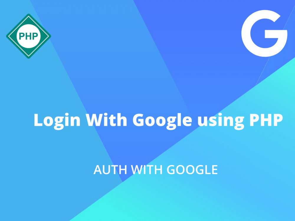 Login With Google using PHP